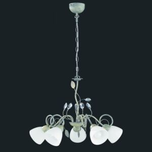 Trio TRADITIO 110700561 candelabre, lustre gri antic metal excl. 5 x E14, max. 40W IP20