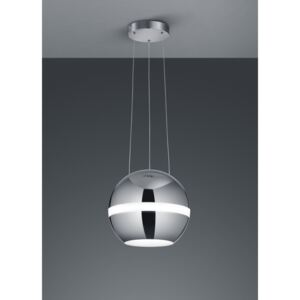 Trio BALLOON 376110106 Pendule LED crom metal incl. 1 x SMD, 30W, 3000K, 2650Lm 2650lm 3000K IP20 A+