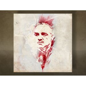 Tablouri canvas Godfather Marlon Brando - AQUArt / Tom Loris 006AA1 ()