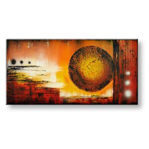 Tablouri pictate manual pe canvas DeLUXE - ABSTRACT 1 piesă 090D1 ()