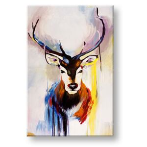 Tablouri canvas pictate manual 1 piesă DEER DA019E1 (tablouri)