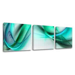 Tablouri canvas 3-piese ABSTRACT AB108E33 (tablouri moderne pe)