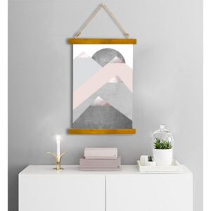 Wall Hanging Canvas Conflict and Figure - Dan Johannson XMPDJ092 ()