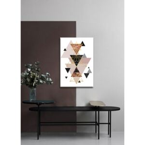 Tablouri canvas Happy Peacock in Aspic - Dan Johannson XOBDJ124E1 ()