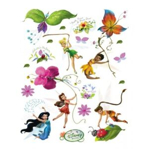 Stickere Walt Disney - Fairies 4 pentru perete camera copii