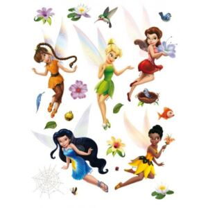 Stickere decorative Tinkerbell pentru perete camera copii
