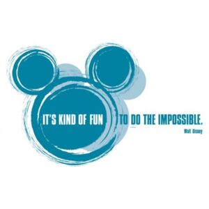 Stickere perete Disney - It's kind of fun
