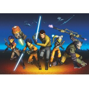 Fototapet Star Wars Rebels Run