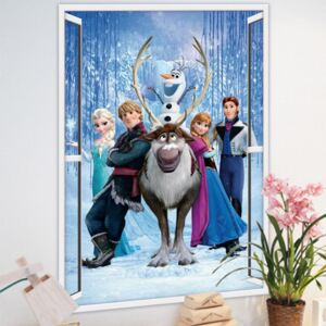 Sticker perete Frozen 3D 50 x 70 cm