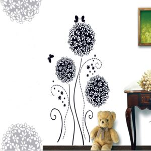 Sticker perete Dandellion Flowers 50x70 cm