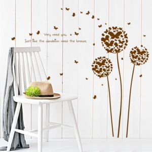 Sticker perete Flying Dandelions 45x60cm