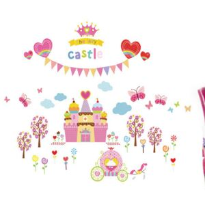Sticker perete Princes castle