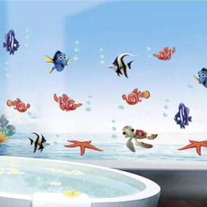 Sticker perete Under the sea 60 x 130 cm
