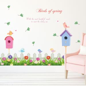 Sticker perete Birds Of Spring