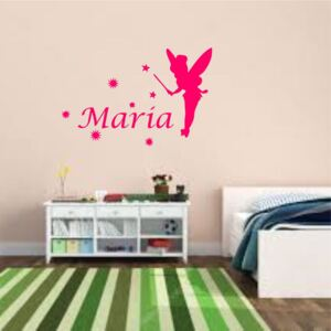 Sticker perete personalizat My Name Girl 3