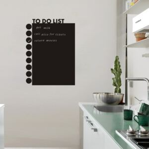 Sticker perete Tabla de scris To Do List