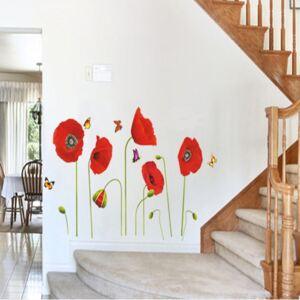 Sticker perete Flower Decor Maci