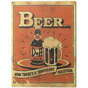 Tablou Canvas The Simpsons - Beer..., (60 x 80 cm)