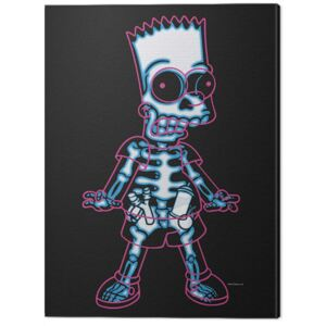 Tablou Canvas The Simpsons - X-Ray Bart, (60 x 80 cm)