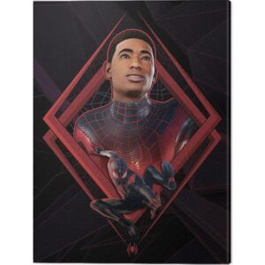 Tablou Canvas Spider-Man Miles Morales - Be Greater, (60 x 80 cm)