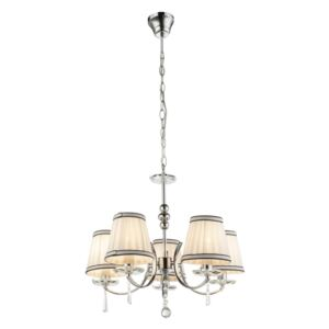 Globo 69032-5 Candelabre, Lustre VALLE crom 5 x E14 max. 40w IP20