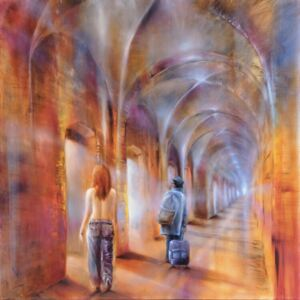 Ilustrare We are passengers, Annette Schmucker