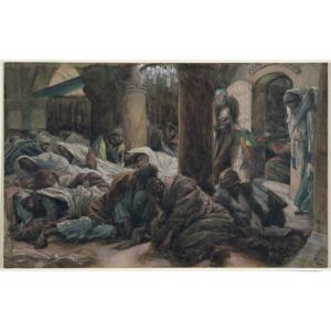 Mary Magdalene Runs and Tells the Disciples that the Body of Christ is No Longer in the Tomb, illustration for 'The Life of Christ', c.1886-94 Reproducere, James Jacques Joseph Tissot