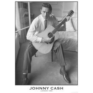 Johnny Cash - London 1959 Poster, (59,4 x 84 cm)