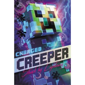 Poster Minecraft - Charged Creeper, (61 x 91.5 cm)
