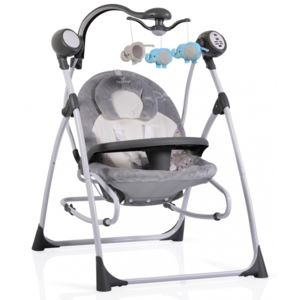 Leagan cu conectare la priza Swing Star Grey