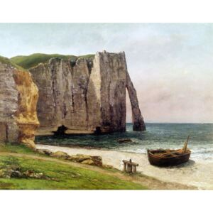 The Cliffs at Etretat, 1869 Reproducere, Gustave Courbet