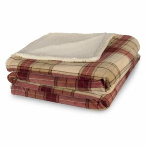 Patura fleece Heinner Home 200x220 Bej