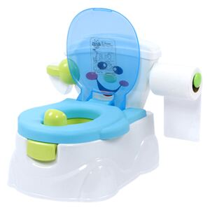 Olita educationala 3 in 1 Little Mom Smiley Potty Blue