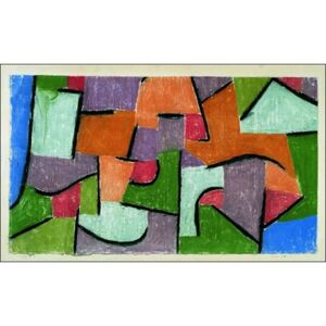 P.Klee - Uber Land Reproducere, (80 x 60 cm)