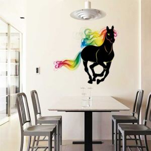 Sticker perete Rainbow Horse