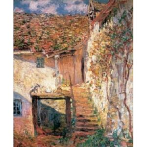 The Stairs, 1878 Reproducere, Claude Monet, (50 x 70 cm)