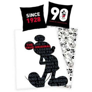 Lenjerie de pat Mickey Mouse - 90 Years