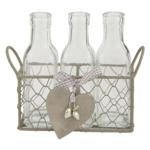 Sticle decor Country