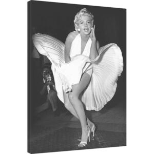 Tablou Canvas Marilyn Monroe - Seven Year Itch, (60 x 80 cm)