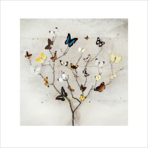 Ian Winstanley - Tree of Butterflies Reproducere, (40 x 40 cm)