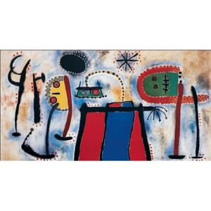 Painting, 1953 Reproducere, Joan Miró, (80 x 60 cm)