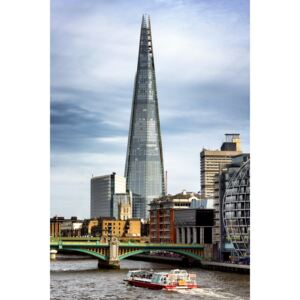 Fotografii artistice The Shard Building and The River Thames, Philippe Hugonnard