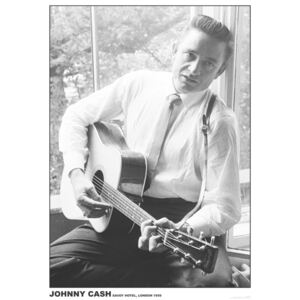 Johnny Cash - #2 Guitar Poster, (59,4 x 84,1 cm)