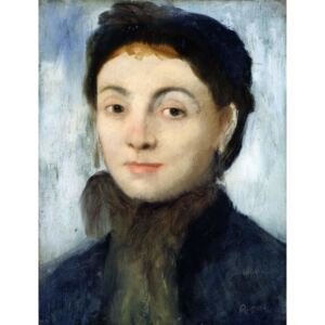 Edgar Degas - Portrait of Josephine Gaujelin, 1867 Reproducere