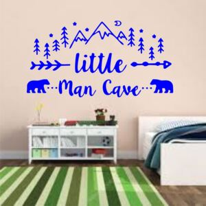 Sticker perete Little Man Cave