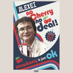 Stranger Things - No Cherry No Deal Poster, (61 x 91,5 cm)