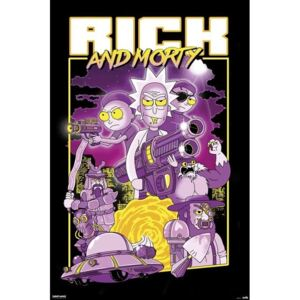 Rick Morty - Characters Poster, (61 x 91,5 cm)