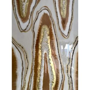 Tablou Clearly Geode 70x102 cm Luxury Resin Collection | ARTIGIANA STUDIO