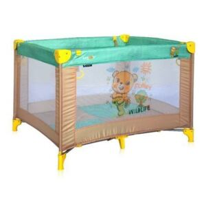 Lorelli - Tarc de joaca Play, Honey Bear Beige, Green