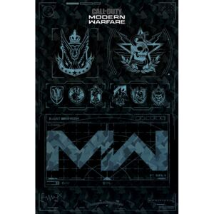 Call of Duty: Modern Warfare - Fractions Poster, (61 x 91,5 cm)